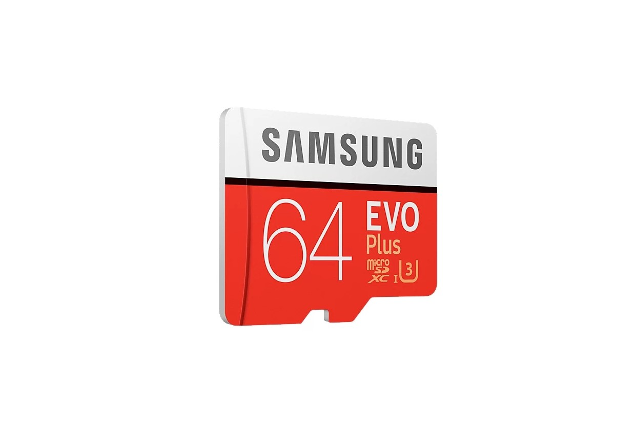 Карта памяти 64Gb Samsung EVO Plus MB-MC64GA/RU (60Mb/s) (MicroSDXC)