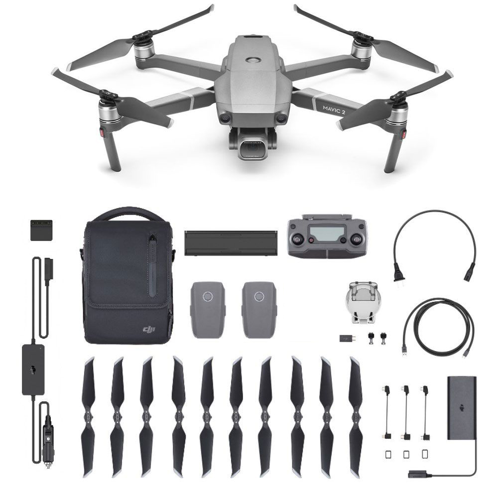 Квадрокоптер DJI Mavic 2 Pro с комплектом Fly More Combo kit