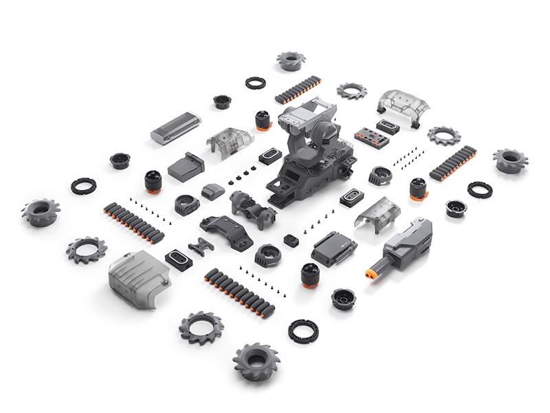 Как выглядит комплект DJI Robomaster S1