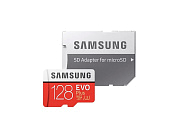 Карта памяти 128Gb Samsung EVO Plus MB-MC128HA (60Mb/s) (MicroSDXC)